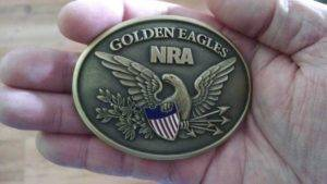 Golden Eagle Belt Buckle. Concealed carry Maine course. Go with the best
