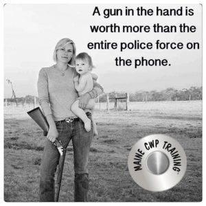 Gun in Hand mainecwptraining.com