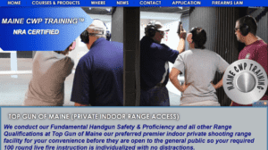 Fundamental Handgun Safety & Proficiency course for new shooters https://mainecwptraining.com/course-products/fundamental-handgun-safety-and-proficiency/and pistol owners