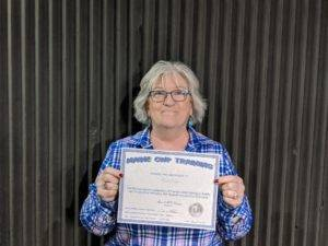Carol Completed our Fundamental Handgun Safety and Proficiency Course https://mainecwptraining.com/course-products/fundamental-handgun-safety-and-proficiency/
