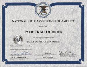 Online NRA Certified Basic Pistol Shooting- Blended  https://mainecwptraining.com/course-products/nra-basic-pistol-shooting-online-study-course-material/