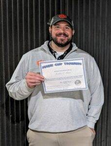 Jon successfully completed our Fundamental Handgun Safety and Proficiency course https://mainecwptraining.com/