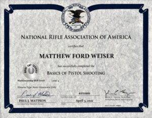 Online NRA Certified Basic Pistol Shooting | Blended https://mainecwptraining.com/course-products/nra-basic-pistol-shooting-online-study-course-material/